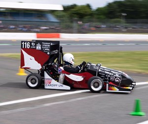Renishaw-Sponsored Team Finds Formula Student Success