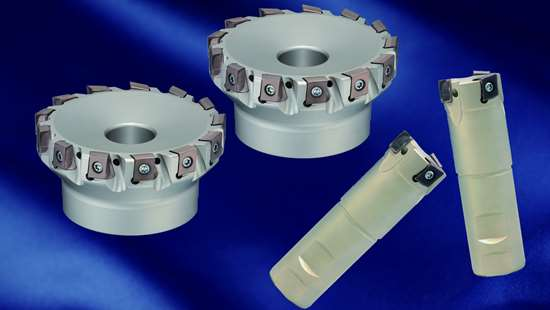 Tangential milling cutter