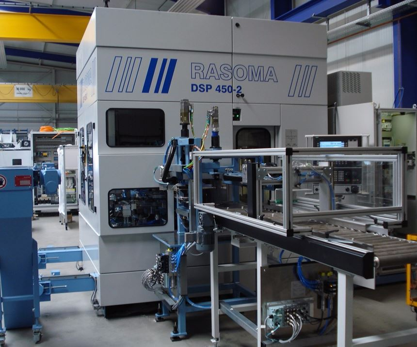 Double-spindle machining center
