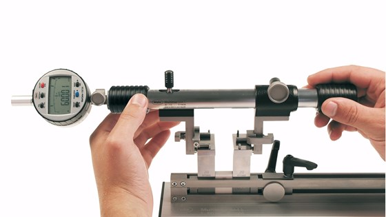 Bore gage setting tool