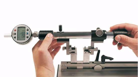 Bore gage setting tool