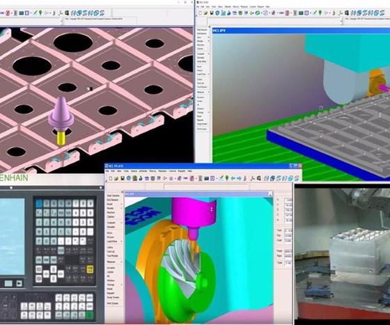 Machining software
