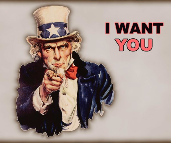 I want you, Uncle Sam