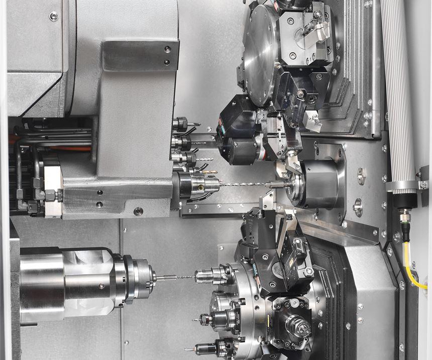 TNL20 Sliding/Fixed Headstock Automatic Lathe