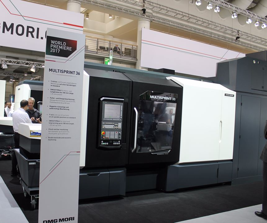 DMG Mori Multisprint machine