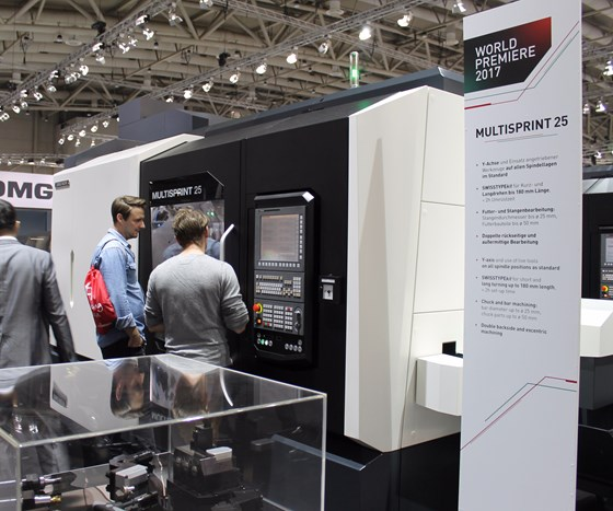 DMG Mori's Multisprint machines