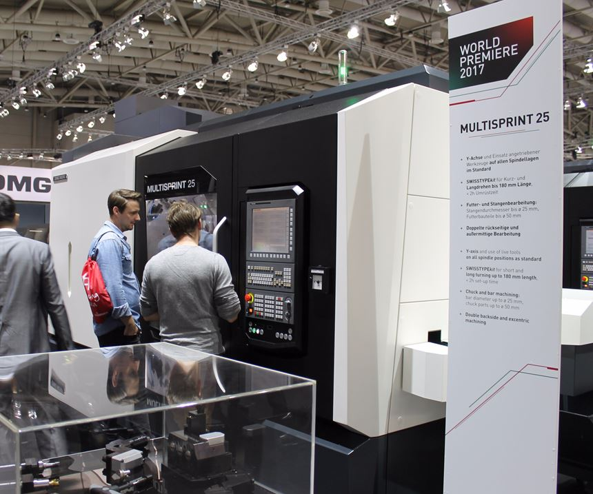 DMG Mori's Multisprint machines