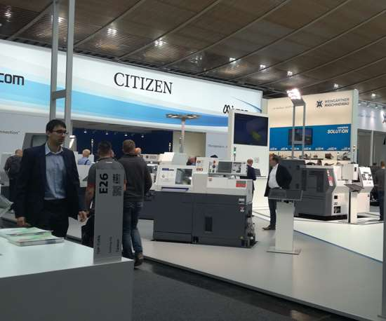 Citizen's booth at EMO 2017