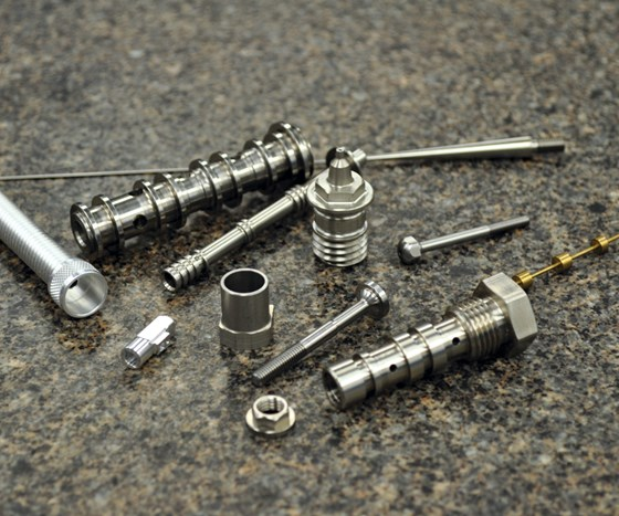 Parts of various sizes