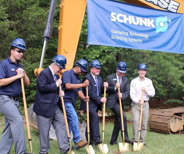 Schunk HQ Groundbreaking