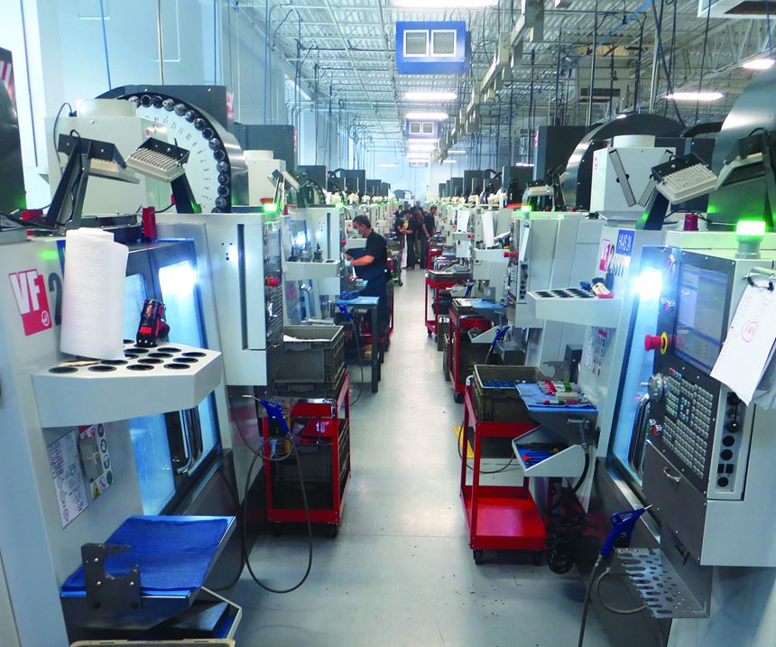 Haas Vertical Machining Centers