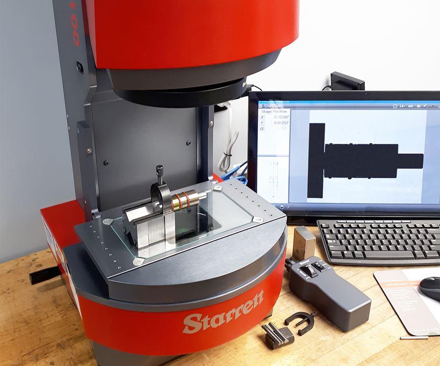HRV100-FLIP digital video inspection system from Starrett