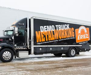 Eriez Metalworking Demo Truck Kicks Off 2018 Tour