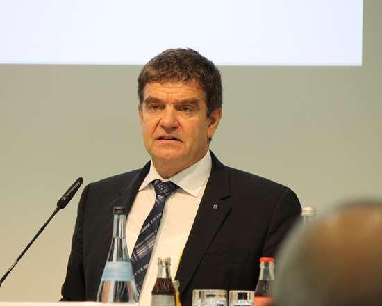 VDW Chairman Dr. Heinz-Jürgen Prokop