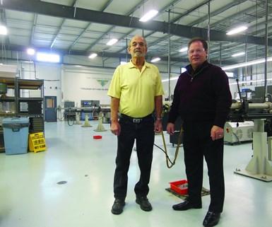 Tom Cseplo and Brett Crawford