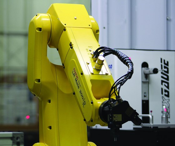 Robot in Inspection Cell