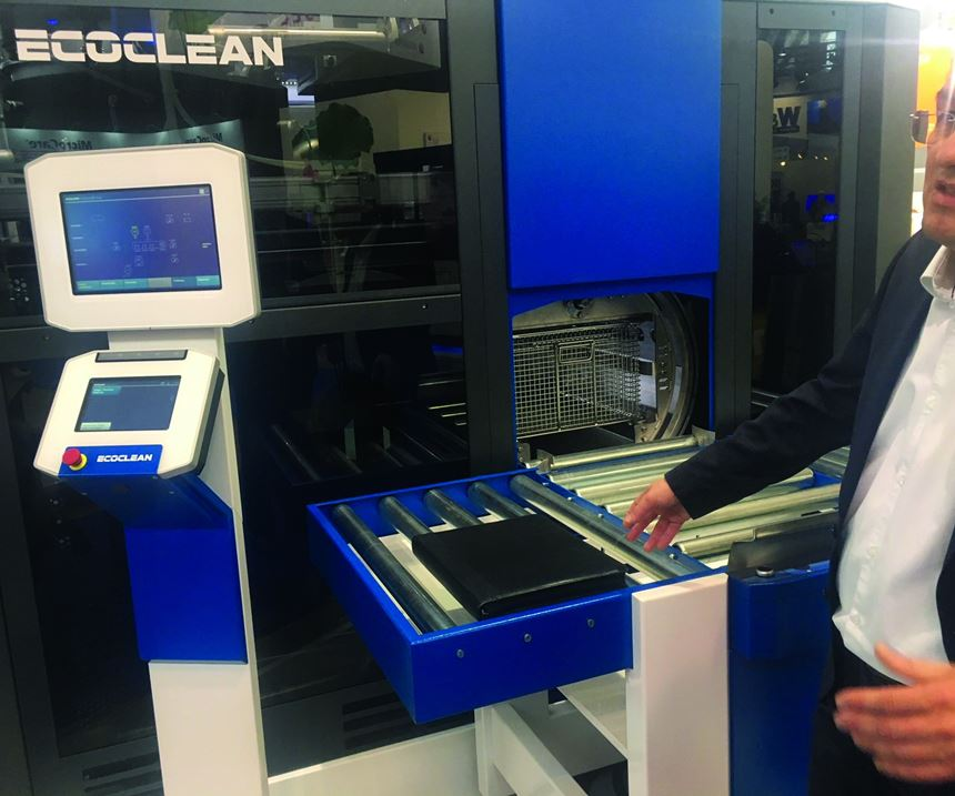 Ecoclean's cleaning machine