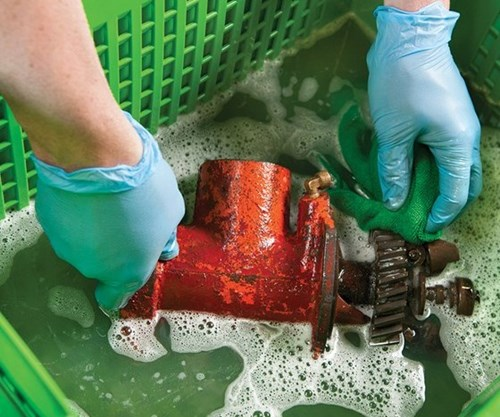 Water-Based Cleaning Solutions Offer Safety and Sustainability