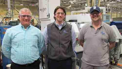 Laser team at Economy Spring