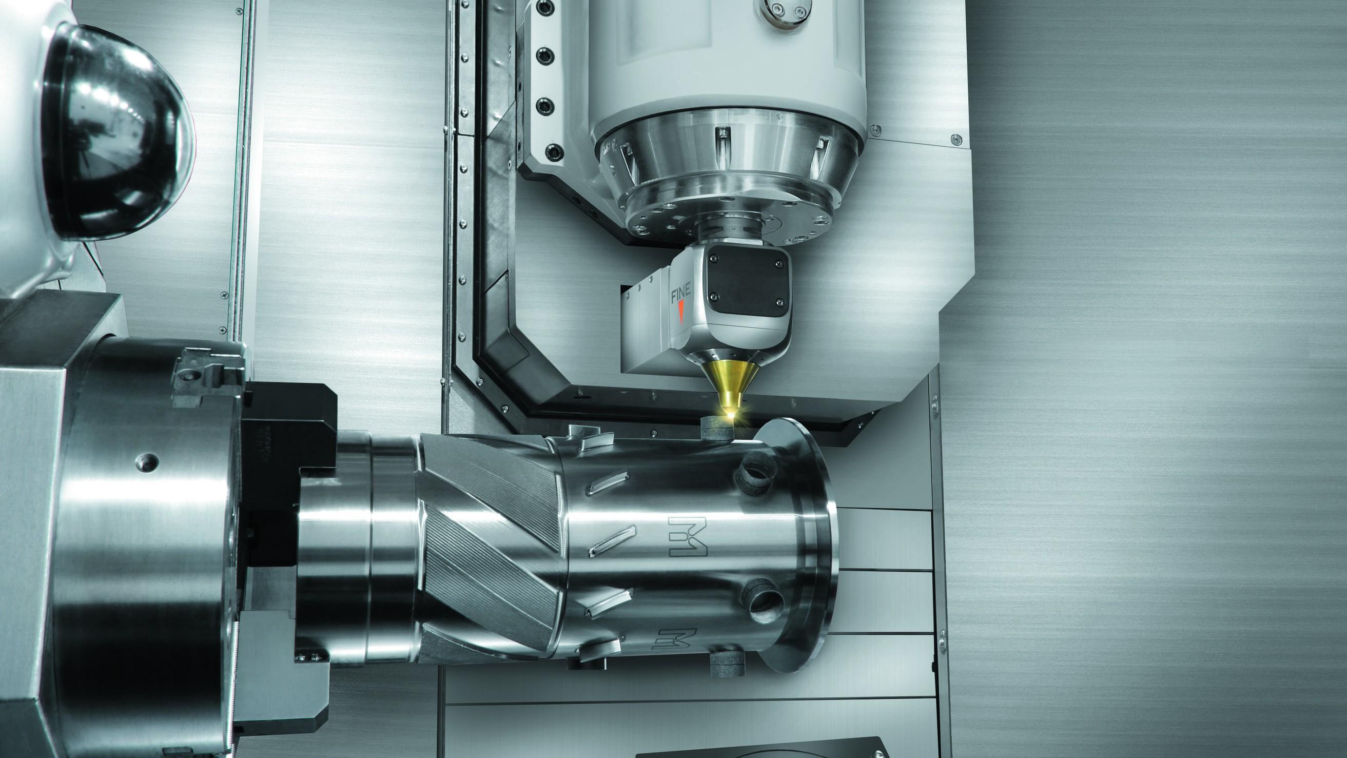 Mazak i-400AM hybrid machine