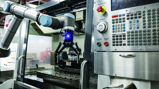 Robot with Wrist Camera