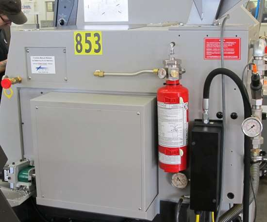 Fire suppression kit