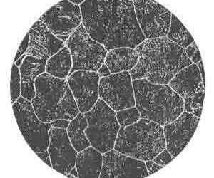 Austenitic grain size