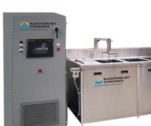 The Aquarius Series multi-tank ultrasonic cleaning system