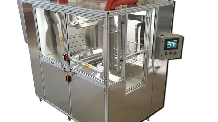 Cube 2 parts cleaning system