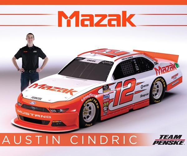 Austin Cindric and Mazak