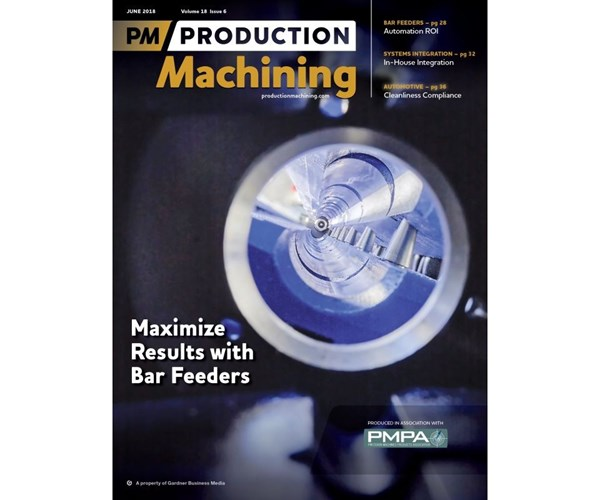 June 2018 Production Machining Cover