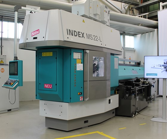 Index MS22-L multi-spindle turning machine