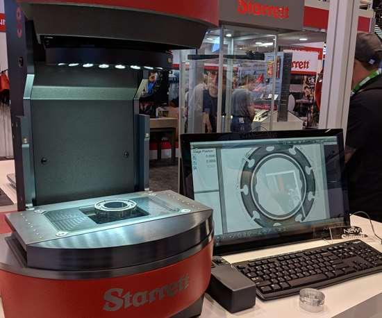 FLIP digital video inspection system from Starrett