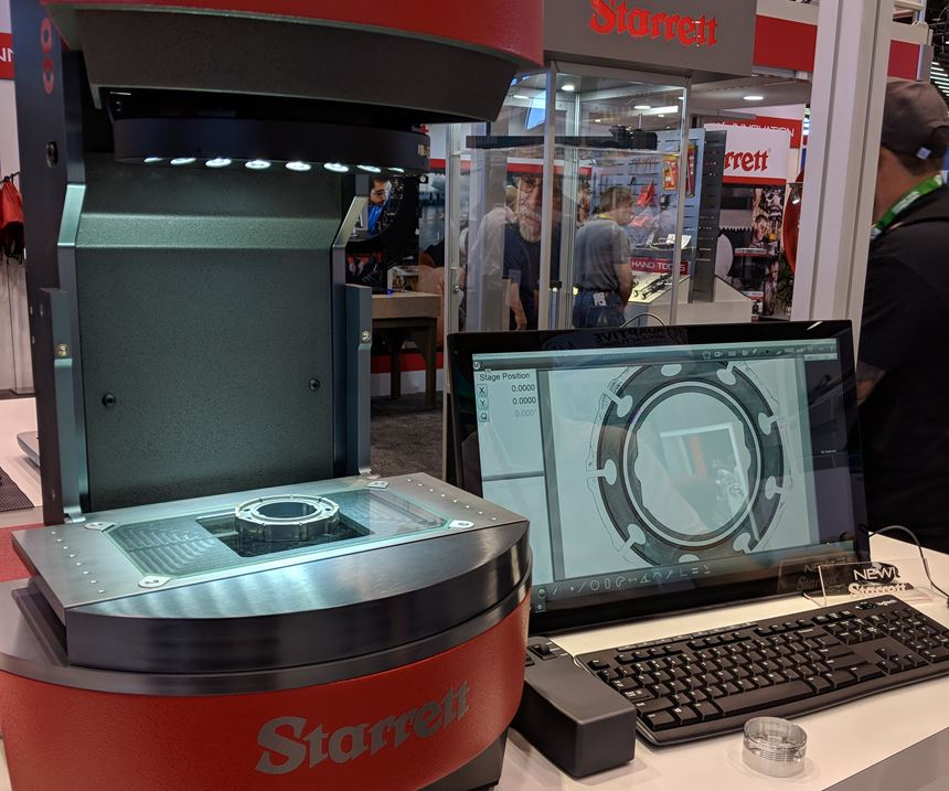 FLIP digital video inspection system from Starrett