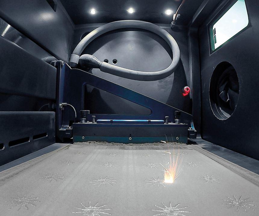Realizer selective laser melting metal additive manufacturing system