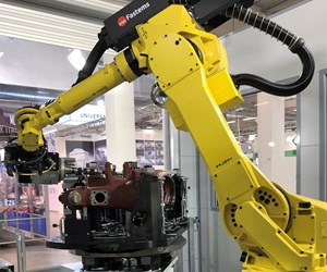 Fastems finishing robot