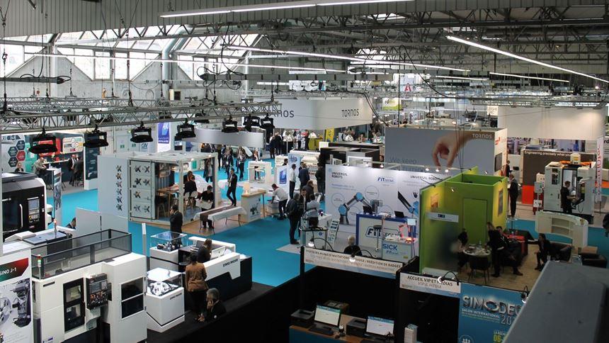 Simodec 2018 show floor