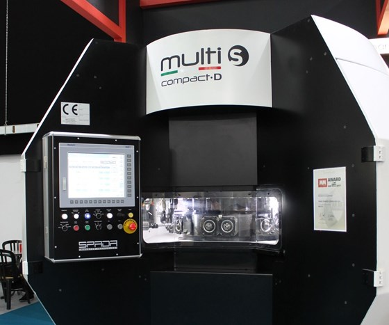 Multi-S Compact D show-floor display