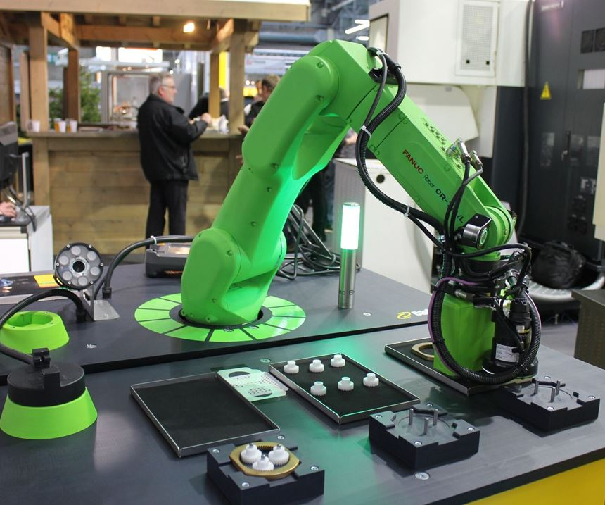 Collaborative industrial robot CR-7iA