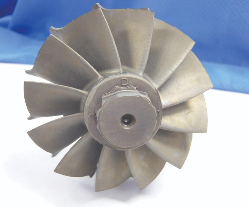 Clean metal part