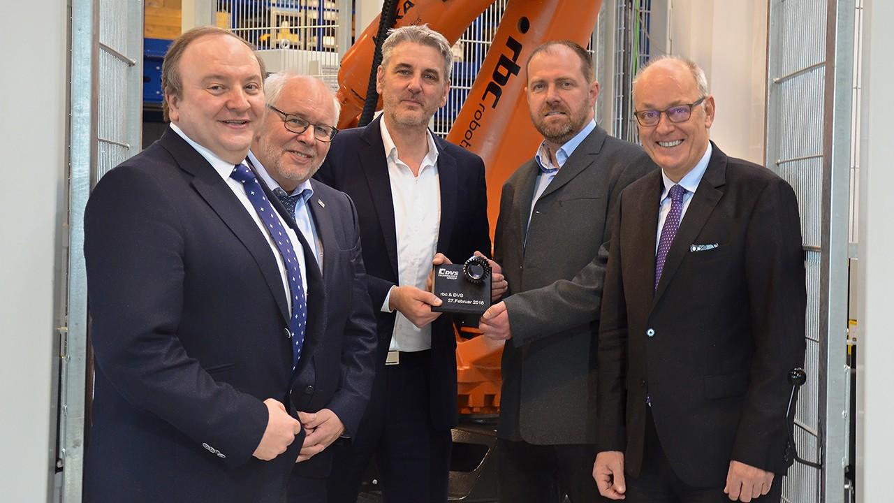 Collaboration between rbc Fördertechnik GmbH and DVS