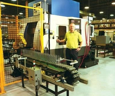 Bill Marcell, COO and president of Standby Screw Machine Products