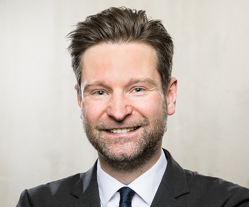 head shot of Pascal Forrer