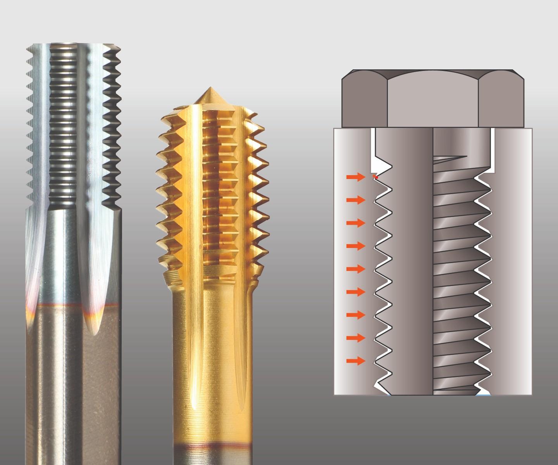 Self-Lock threading tools