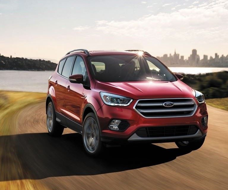 red Ford Escape