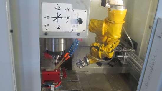 Rocky robot in VMC