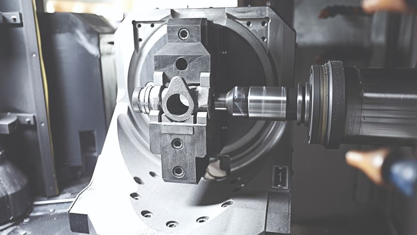 B-axis rotary pallet