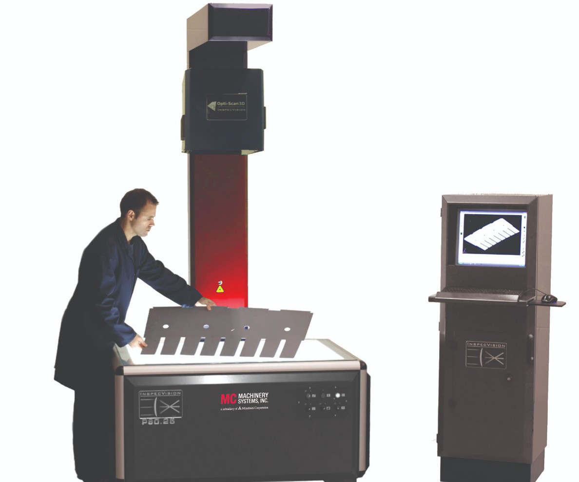 InspecVision machine inspection system