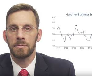 VIDEO: Manufacturing's Growth Rate High, but Slowing