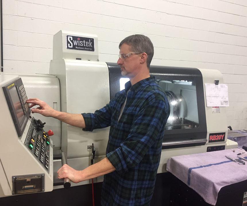 Operator checking machine